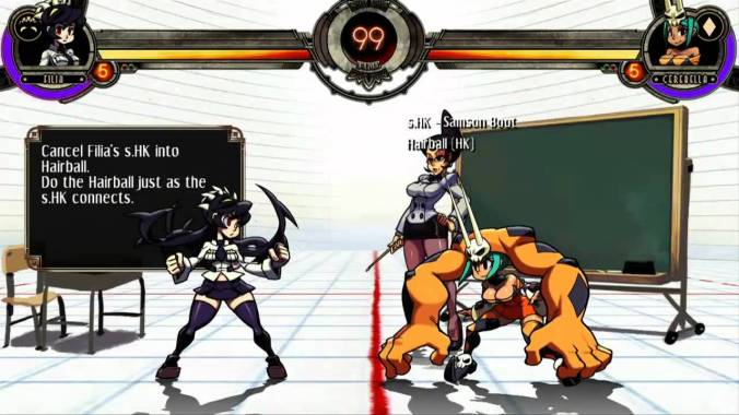 skullgirls tutorial